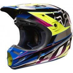 Capacete Fox V4 Race Chrome