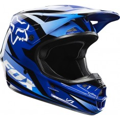 Capacete Fox V1 Race Blue 14