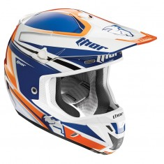 Capacete Thor Verge Flex (Navy/Orange)