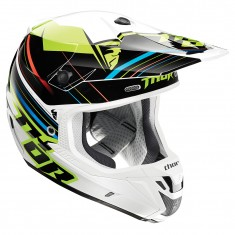 Capacete Thor Verge Stack (FLO Green)