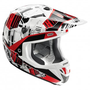 Capacete Thor Verge Block (Red)