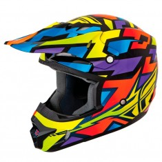 Capacete Fly Kinetic Block Out - Wild