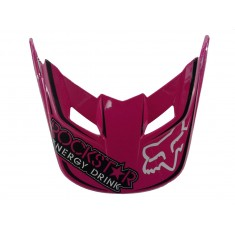 Visor (Pala) Capacete Fox V1 Rockstar - Rosa