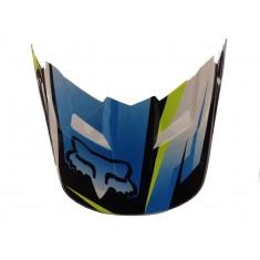 Visor (Pala) Capacete Fox V1 Costa - Blue