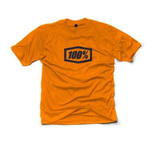 Camiseta 100% Essential Orange
