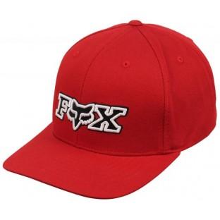 Boné Aba Curva Fox Joint Vermelho Snapback