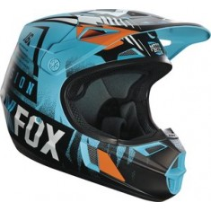 Capacete FOX V1 Vicious YOUTH 2016 Aqua (Juvenil)