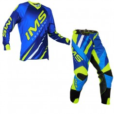 Kit Calça + Camisa IMS Action Pro Azul Fluor