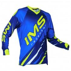 Camisa IMS Action Pro Azul Fluor