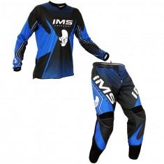 Kit Calça + Camisa IMS Start 16 Azul