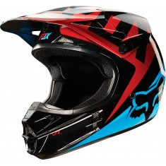 Capacete Fox V1 Race Blue/Red 15