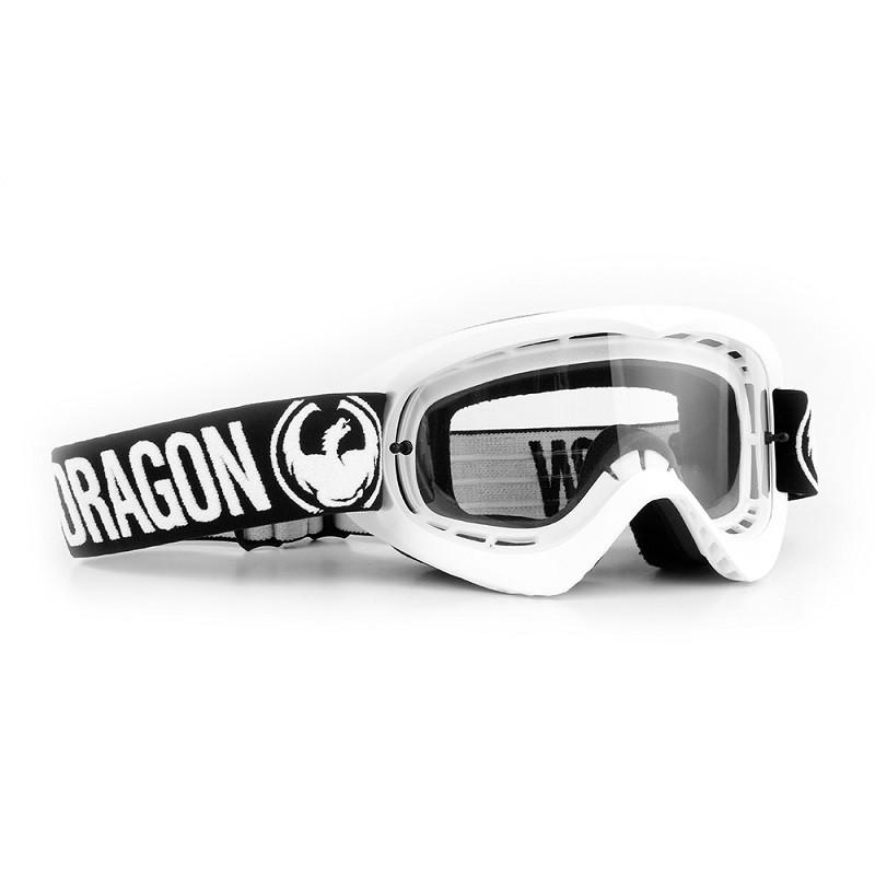 Óculos Dragon MDX Branco (Lente Clear) 3c0ac075bc