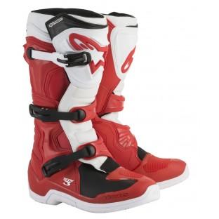 Bota Alpinestars Tech 3 red white