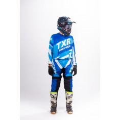 Conjunto Calça + Camisa TXR Race Wear - Azul