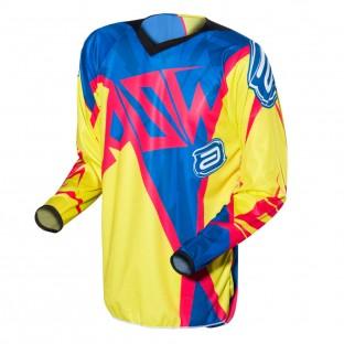 Camisa ASW Podium Invader - Verde/Pink