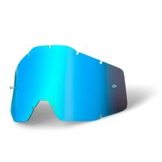 Lente 100% Anti Embaçante - Espelhada Azul