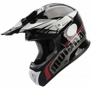 cbe41911129cd Capacete Mormaii Cooler - Black Red - Moto Shop Racing