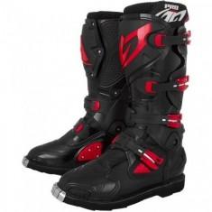 Bota Pro Tork Pro Racing - Preta/Vermelho